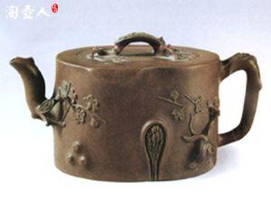 《杨氏梅段壶》-清·杨凤年