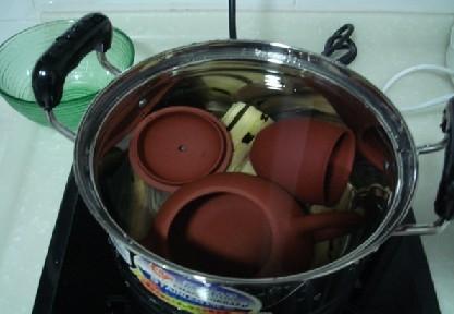 紫砂壶甘蔗煮壶