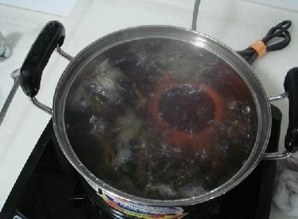 紫砂壶茶叶煮壶