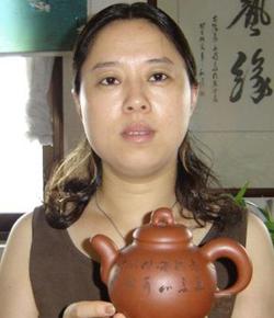 宜兴紫砂壶名家何燕萍