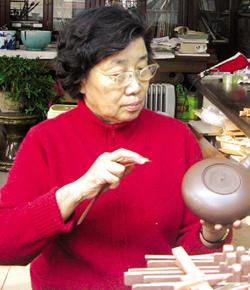 周桂珍紫砂壶名家