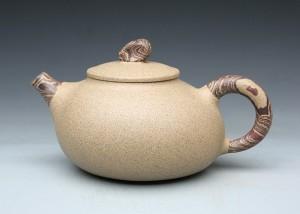 段泥陶木壶A