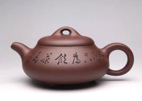 曼生石瓢(刻绘)