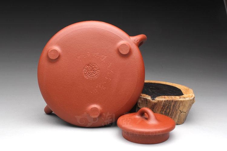 (严钢装饰)-徐伟强全手工制作-原矿大红袍紫砂泥料