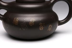 镶金葫芦壶