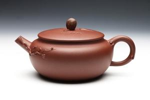 宜兴紫砂壶三友壶