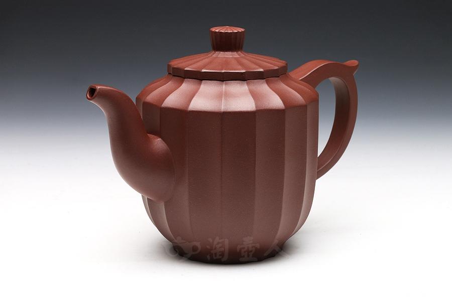 宜兴紫砂壶名家邵顺生紫砂壶-稀菊壶