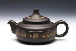 玉柱(谭泉海刻鱼文)