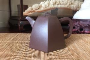 宜兴紫砂壶六方井栏