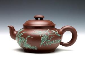 百鹤庆寿壶