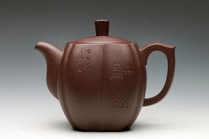 宜兴紫砂壶混方玉兰