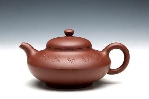 合欢壶(尹陶刻绘)