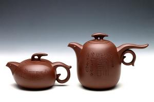 福寿廷年对壶