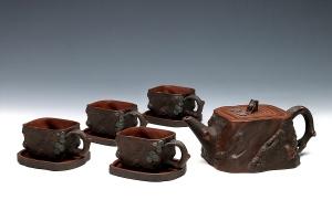 方松茶具(九头)