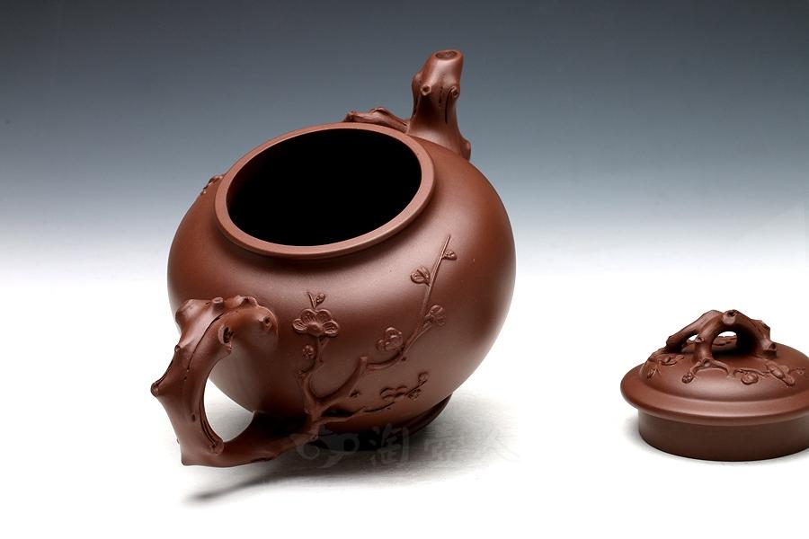 宜兴紫砂壶名家谢曼伦紫砂壶-咏梅壶