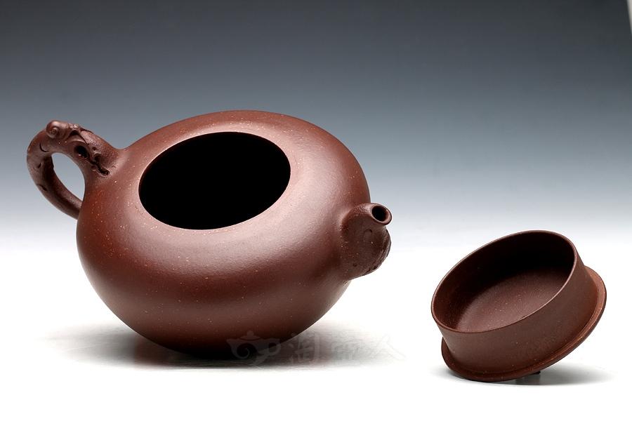 宜兴紫砂壶名家张宏紫砂壶-榴开百子壶