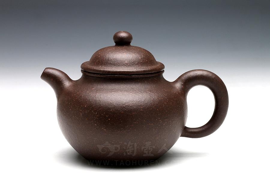 宜兴紫砂壶名家吕尧臣紫砂壶-小掇球壶