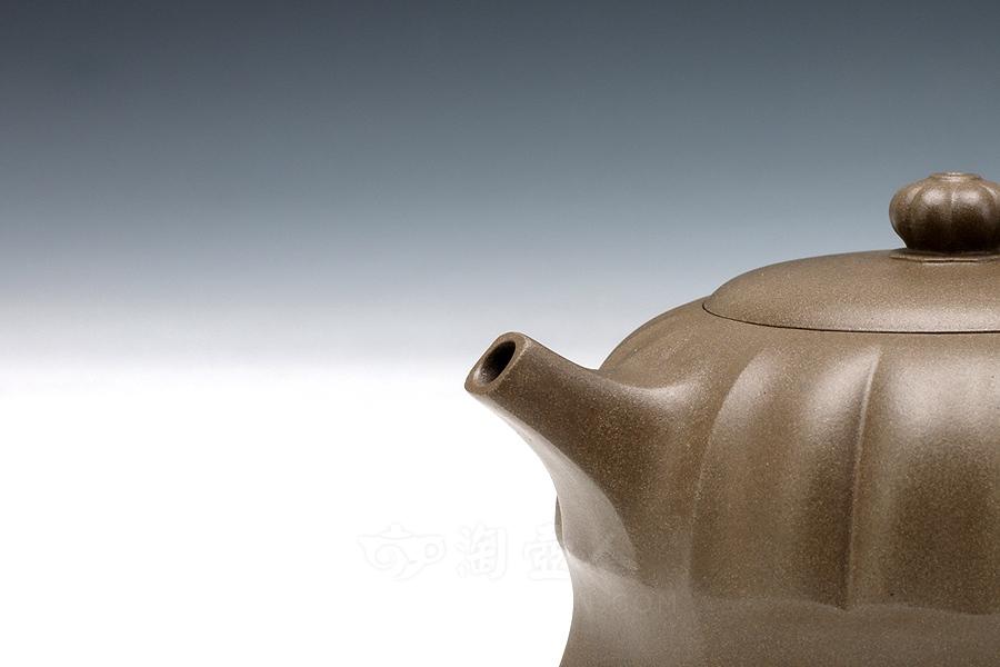 宜兴紫砂壶名家潘国凤紫砂壶-宝石#1壶