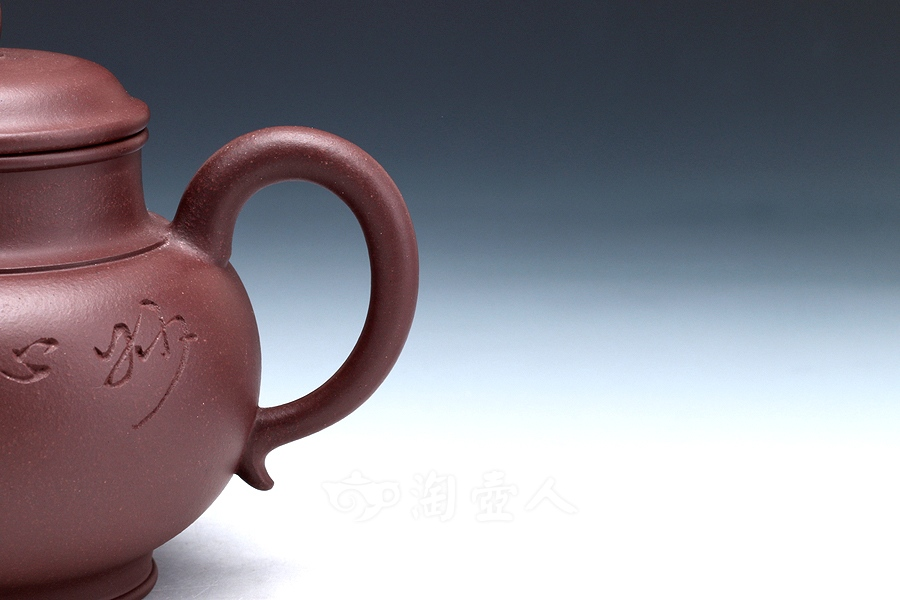 宜兴紫砂壶名家吴永明紫砂壶-全手饮月壶