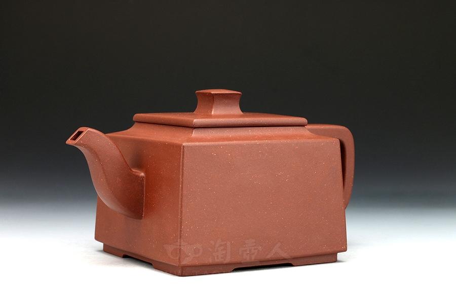 宜兴紫砂壶名家周志良紫砂壶-雅方壶