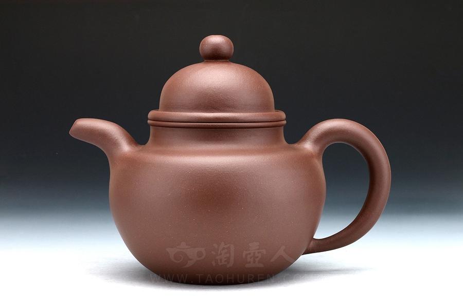 宜兴紫砂壶名家邵顺生紫砂壶-掇球壶