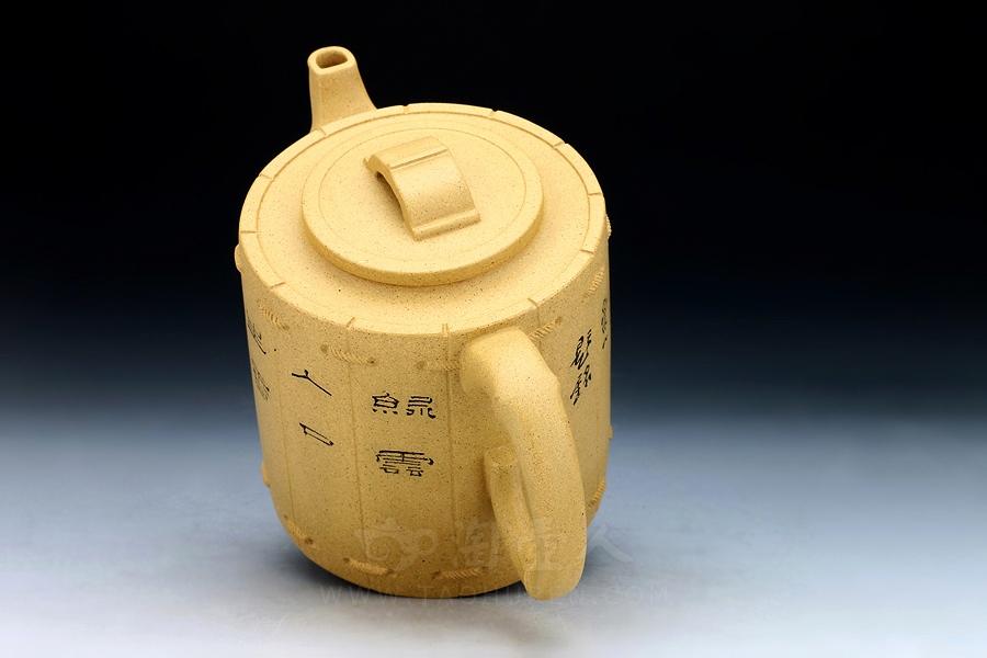 优发娱乐优发娱乐名家周志君优发娱乐-竹韵(鲍志强装饰)壶