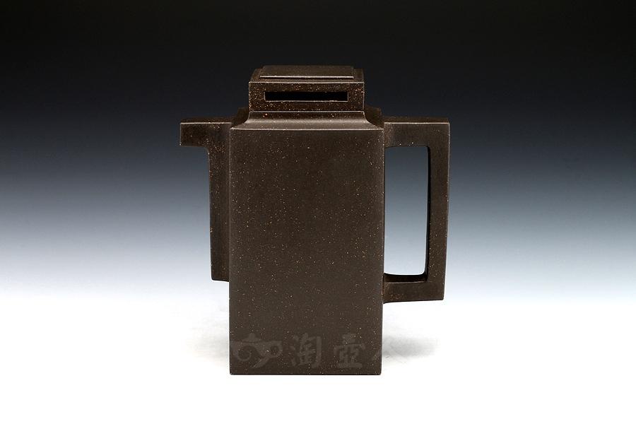 宜兴紫砂壶名家施小马紫砂壶-智方壶