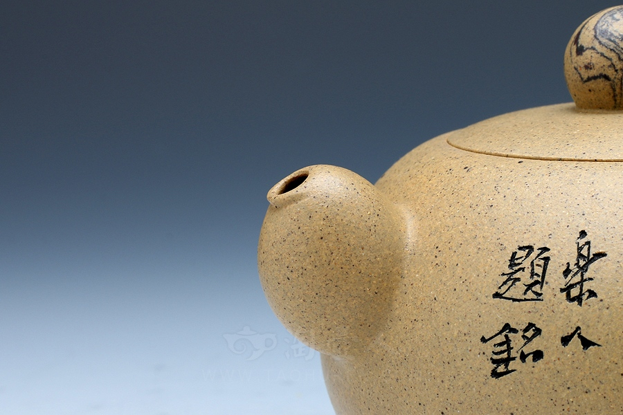 优发娱乐优发娱乐名家周志君优发娱乐-竹石(鲍志强装饰)壶