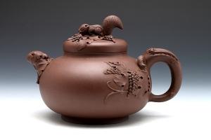 宜兴紫砂壶野趣