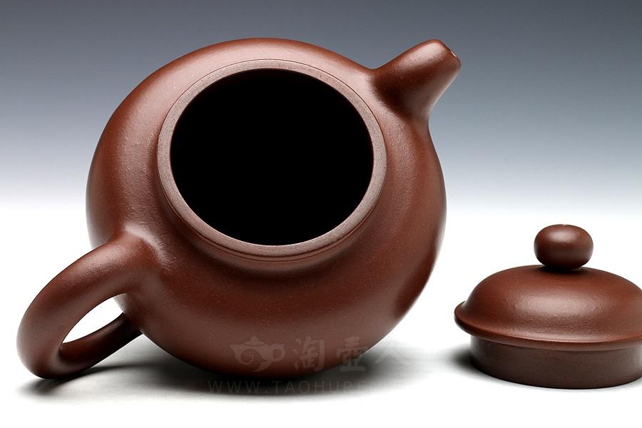 宜兴紫砂壶名家顾绍培紫砂壶-掇圆壶