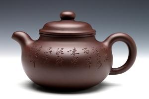 宜兴紫砂壶漱泉