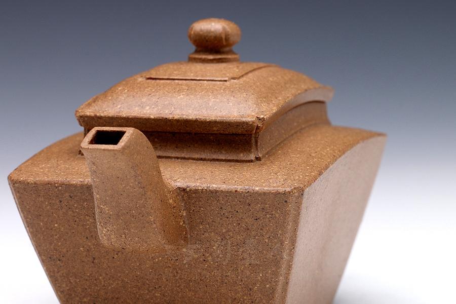 明式方扇壶