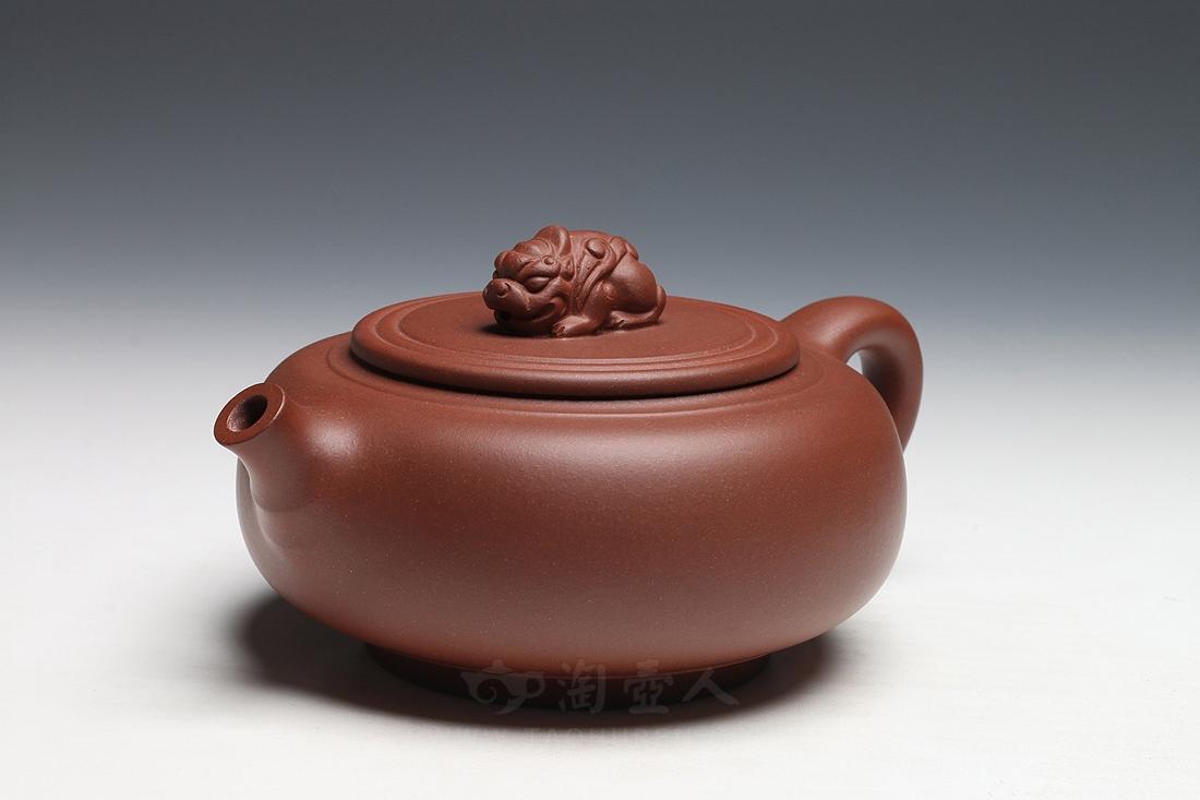 宜兴紫砂壶名家陈夕良紫砂壶-至尊壶