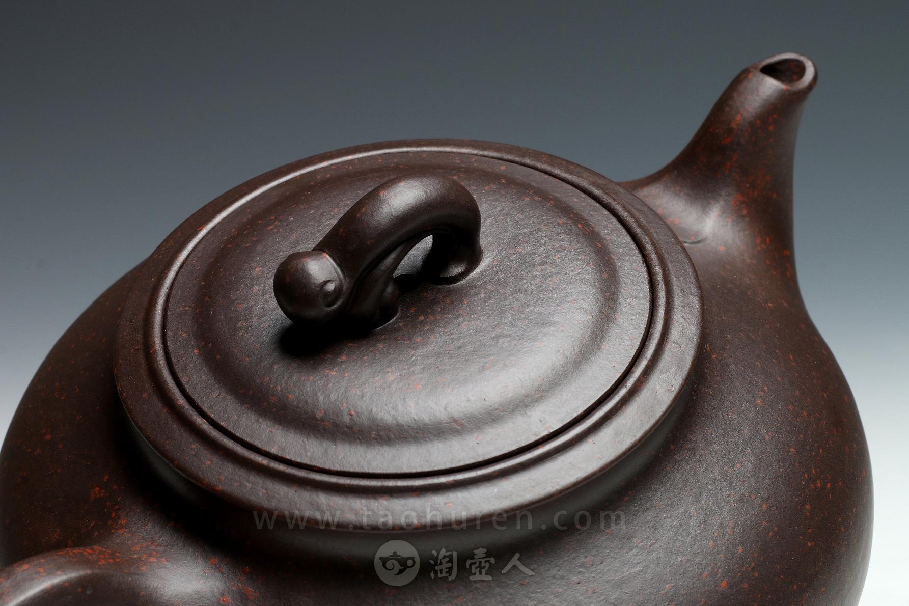 优发娱乐优发娱乐名家汪梅芳优发娱乐-大鱼水情壶