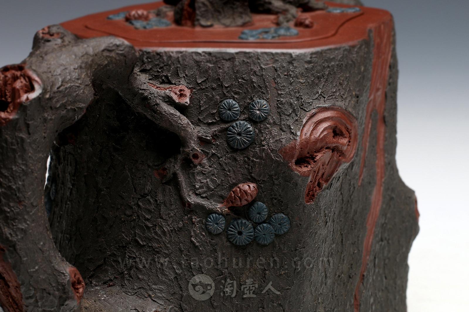 宜兴龙八娱乐网上娱乐名家陈国宏龙八娱乐网上娱乐-金钱松壶