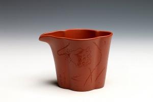 筋纹公道杯(清水泥)