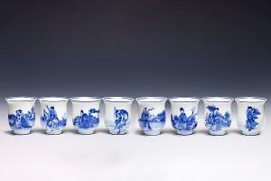 八仙过海·青花杯
