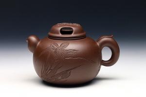 牛盖圆珠壶(唐云书画·孤品)