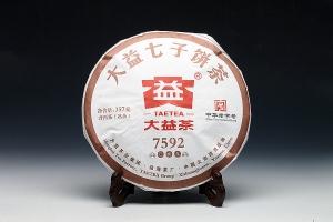 大益七子饼茶7592