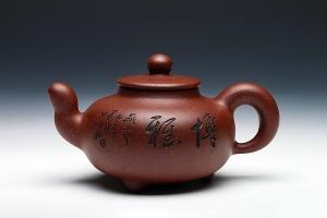 润鼎壶(木石刻绘)
