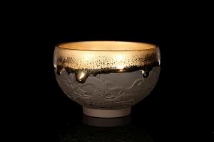 金油滴盏(龙)