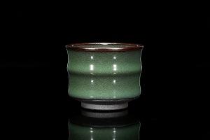 竹节盏(龙窑柴烧)