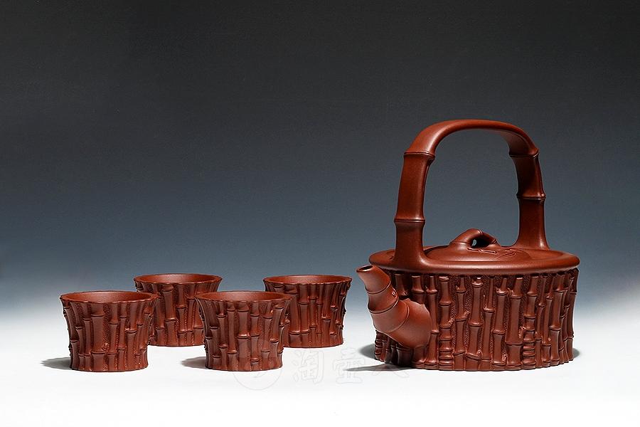 竹海提梁茶具