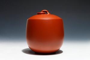春色满园茶叶罐