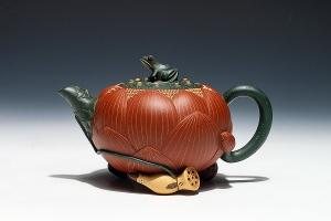 荷花壶·老红泥