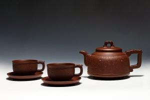 青风印纹茶具