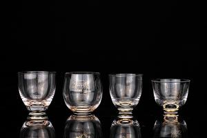 佛手水晶杯(四只)