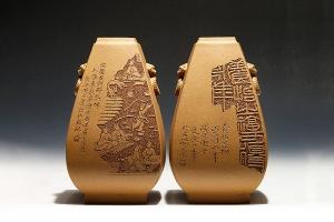秦汉风韵瓶