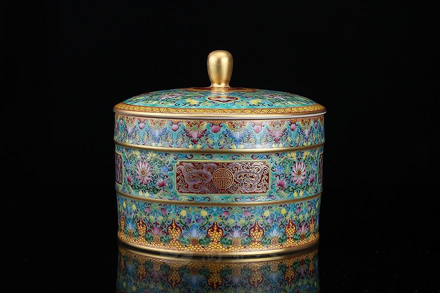 万花锦簇·大茶叶罐