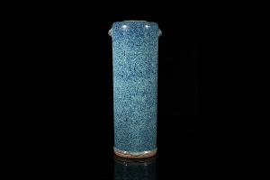 炉钧釉瓶(晚清)